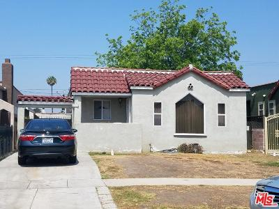 Los Angeles CA Single Family Home For Sale: $450,000