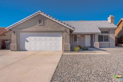 Desert Hot Springs Single Family Home For Sale: 13341 Del Ray Lane