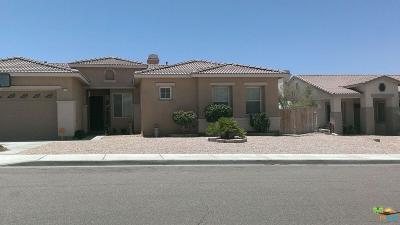 Desert Hot Springs Single Family Home For Sale: 68717 Prospect Way