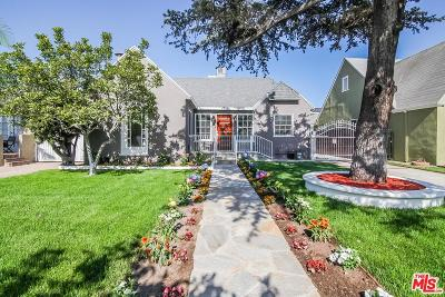 Los Angeles Single Family Home For Sale: 206 North Lucerne