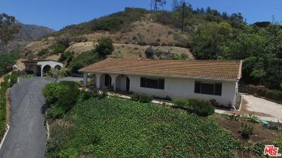 Malibu Single Family Home For Sale: 3560 Serra Road
