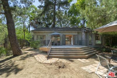 Topanga Single Family Home For Sale: 1403 Glen Road