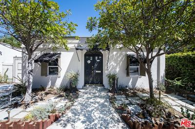 West Hollywood Single Family Home For Sale: 8980 Lloyd Place
