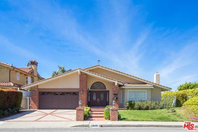 Burbank Single Family Home For Sale: 2843 Joaquin Drive