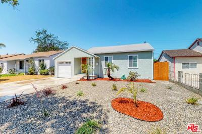 Compton Single Family Home For Sale: 1029 South Harlan Avenue