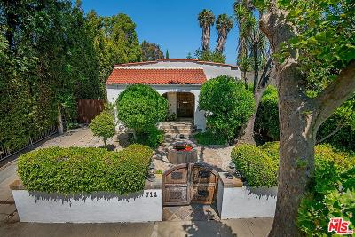 Los Angeles Single Family Home For Sale: 714 North Las Palmas Avenue