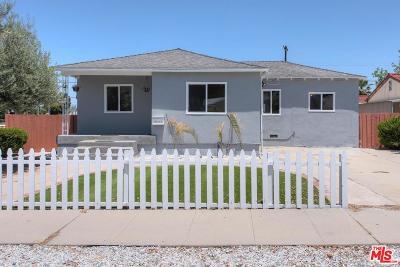 Encino Single Family Home For Sale: 17659 Bullock Street