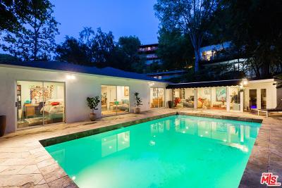 Los Angeles Single Family Home For Sale: 8947 Hollywood Hills Road