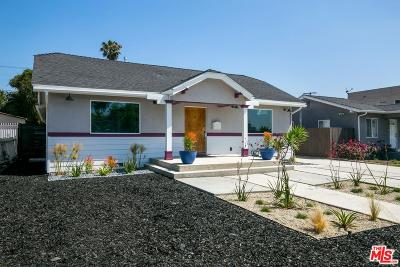 Los Angeles Single Family Home For Sale: 3533 West 59th Street