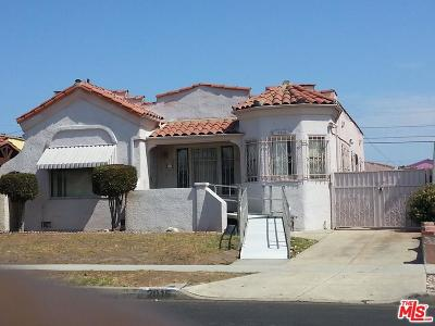 Los Angeles Single Family Home For Sale: 2015 West 84th Place