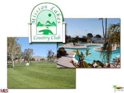 Desert Hot Springs Condo/Townhouse For Sale: 9639 Spyglass Avenue #46
