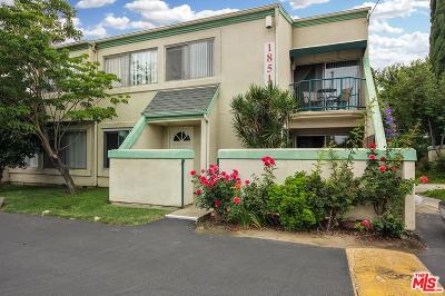 Northridge Condo/Townhouse For Sale: 18512 Mayall Street #A