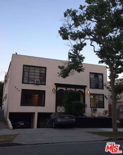 Beverly Hills Rental For Rent: 344 South Rexford Drive #1