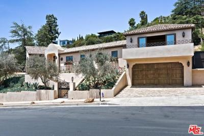 Sunset Strip - Hollywood Hills West (C03) Single Family Home For Sale: 7935 Oceanus Drive