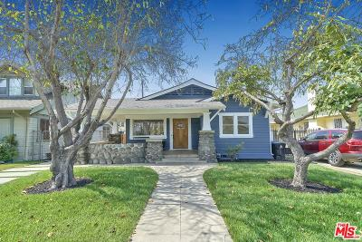 Los Angeles Single Family Home For Sale: 1828 West 43rd Place