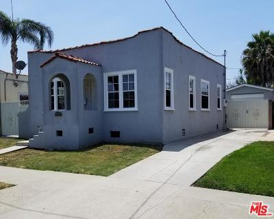 Los Angeles CA Single Family Home For Sale: $549,000