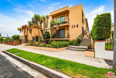 Inglewood Condo/Townhouse For Sale: 114 North Eucalyptus Avenue #3