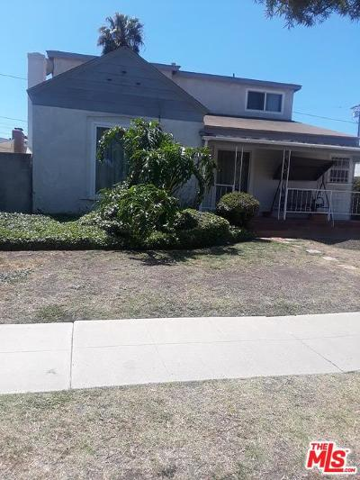 Inglewood Single Family Home For Sale: 2320 West 80th Street