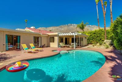 Palm Springs Single Family Home For Sale: 892 East El Escudero