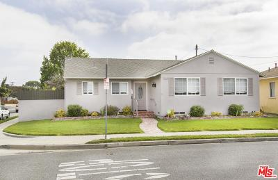 Culver City Single Family Home For Sale: 11110 Woolford Street