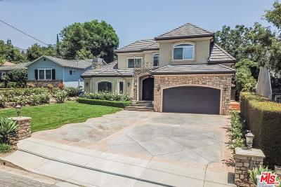 La Canada Flintridge Single Family Home For Sale: 4616 El Camino Corto