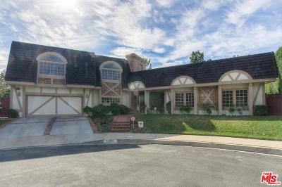 Encino Single Family Home For Sale: 16230 Quemada Road