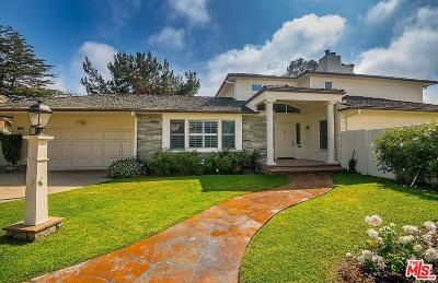 Santa Monica Single Family Home For Sale: 10 Gale Place