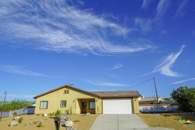 Desert Hot Springs Single Family Home For Sale: 10865 Santa Cruz Rd.