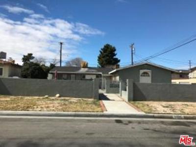 Lancaster Single Family Home For Sale: 44745 Stanridge Avenue