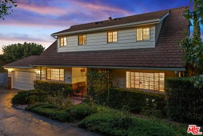 Los Angeles County Single Family Home For Sale: 7815 Mulholland Drive