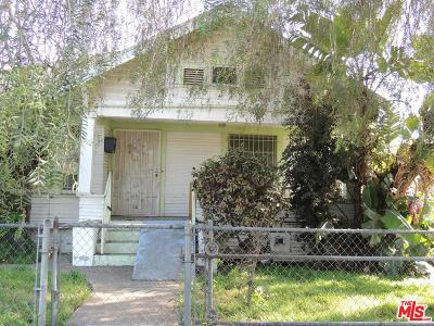 Los Angeles Single Family Home For Sale: 1912 West 23rd Street