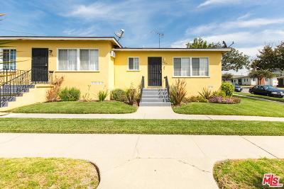 Residential Income For Sale: 5933 La Tijera