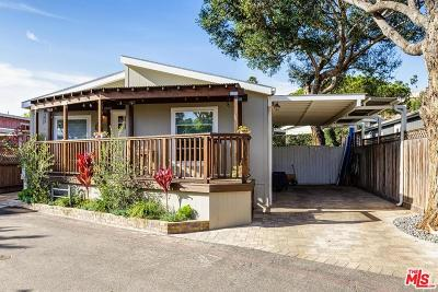 Los Angeles County Mobile Home For Sale: 181 Paradise Cove