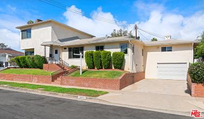 Pacific Palisades Single Family Home For Sale: 15511 Earlham Street