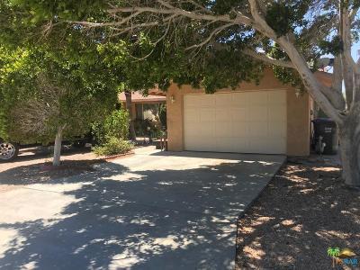 Desert Hot Springs Single Family Home For Sale: 65785 8th Street