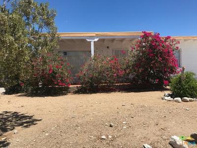 Desert Hot Springs Single Family Home For Sale: 66444 3rd Street
