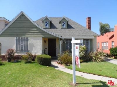 Los Angeles Single Family Home For Sale: 3429 West 78th Place