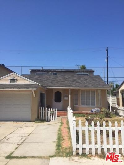 Los Angeles Single Family Home For Sale: 3867 Lyceum Avenue
