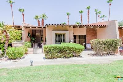 Palm Springs Condo/Townhouse For Sale: 3650 East Bogert Trails #C