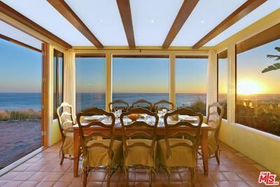 Malibu Single Family Home For Sale: 31339 Pacific Coast Highway
