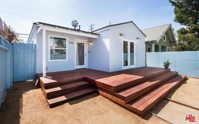 Los Angeles County Single Family Home For Sale: 430 Rialto Avenue