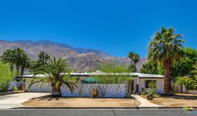 Palm Springs Single Family Home For Sale: 1427 North Rodeo Road