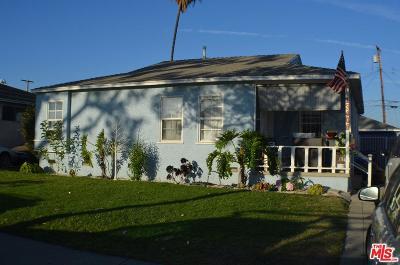 Los Angeles Single Family Home For Sale: 13406 Crocker Street