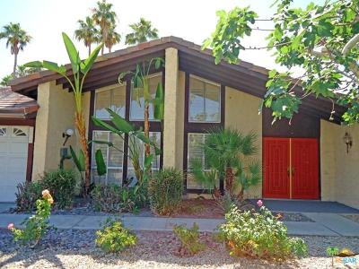 Palm Springs Single Family Home For Sale: 2130 East Amarillo Way