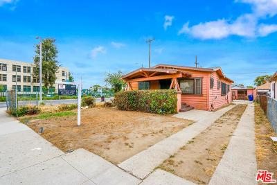 Los Angeles Single Family Home For Sale: 3778 South Harvard