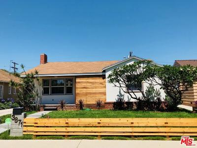 View Park Single Family Home Sold: 3871 South Victoria Avenue