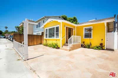 Marina Del Rey Single Family Home For Sale: 123 Catamaran Street