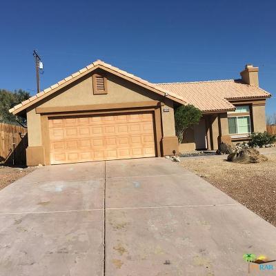 Desert Hot Springs Single Family Home For Sale: 12780 Agua Cayendo Road