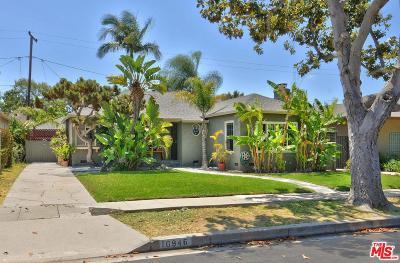 Culver City Single Family Home For Sale: 10946 Barman Avenue