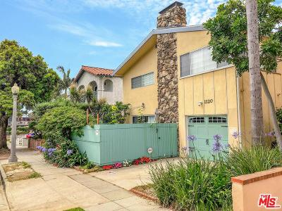 Santa Monica Condo/Townhouse For Sale: 1120 24th Street #B